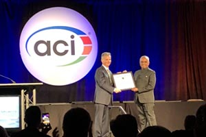 Surendra Keshav Manjrekar receives highest honour from American Concrete Institute